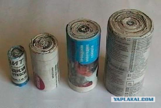 Как сделать дымовуху из линейки и бумаги - Walton