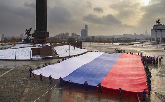 Приднестровье хочет сделать флаг России государственным символом