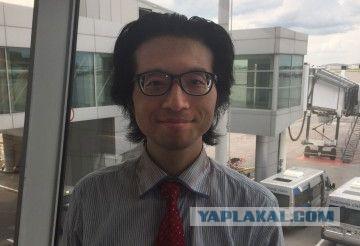 В Шереметьево два месяца живет японец.