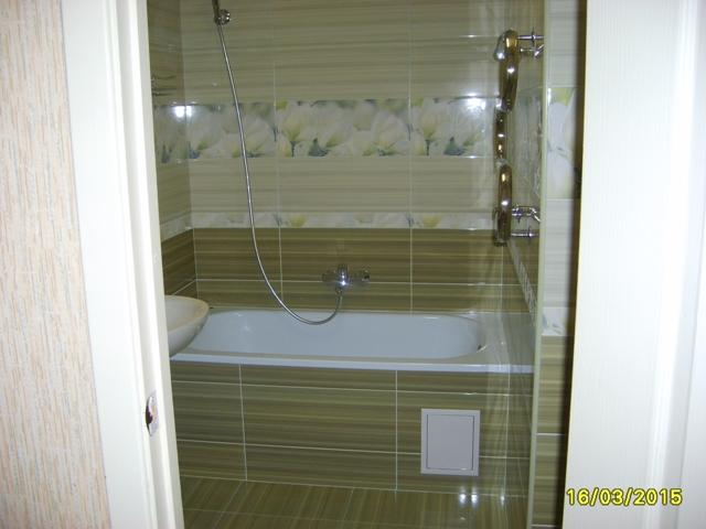 Ремонт  ванной комнаты. (30+)