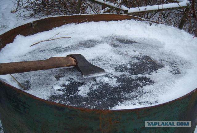Как сделать чтобы зимой не замерзала вода в трубе
