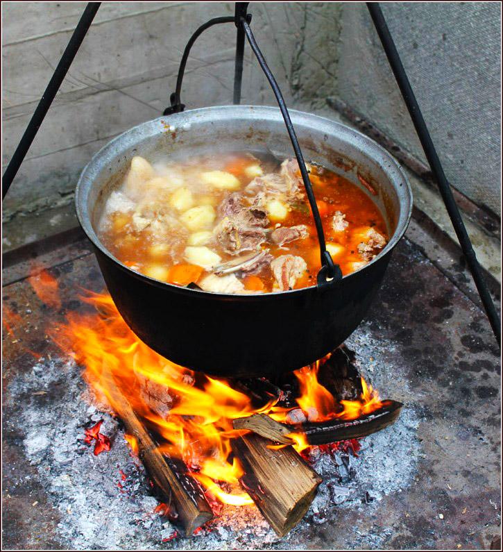 Фото блюд на огне