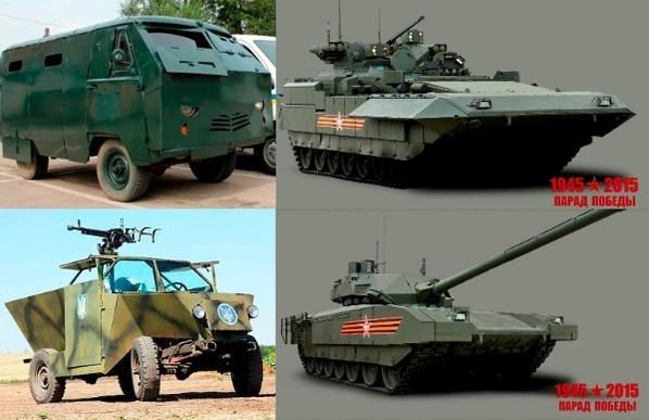 Наглядное сравнение новых вооружений России и Укра