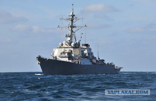 Ракетный эсминец США Porter зайдет в акваторию Черного моря