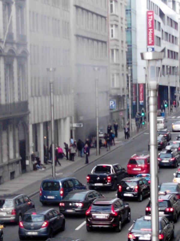 Взрыв прогремел в метро Брюсселя