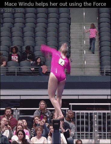 Джедаи тоже смотрят олимпиаду