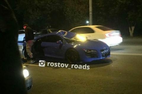 В Ростове на Шолохова Audi R8 насмерть сбила пешехода