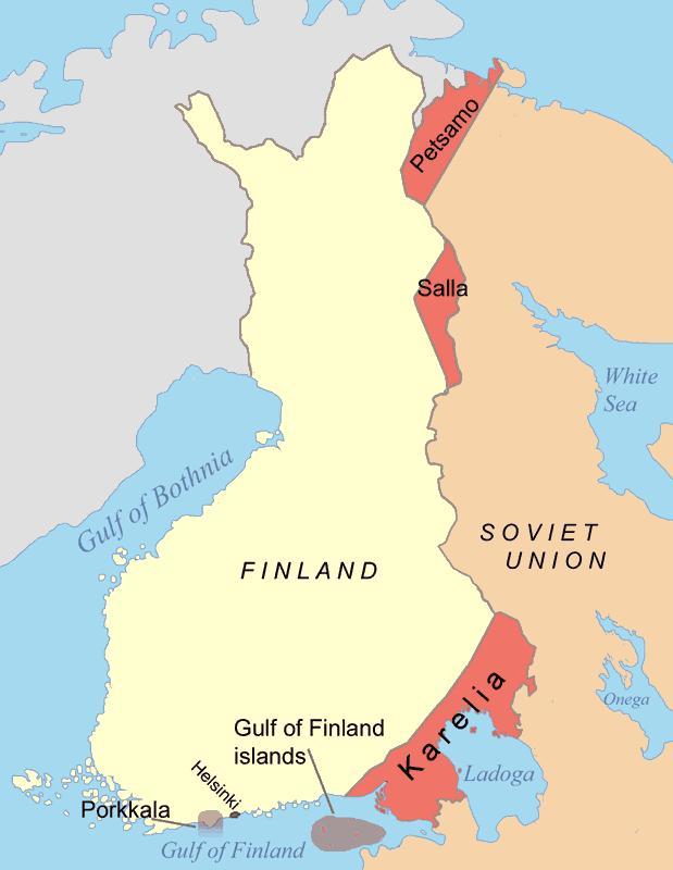 В Финляндии собрались потребовать от России «возвращения Карелии»