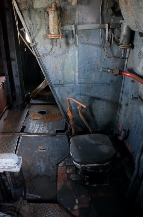 Туалеты на тепловозах и электровозах