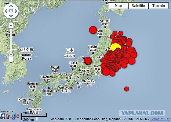Что общего: землетрясение в Японии; Путин и Байден