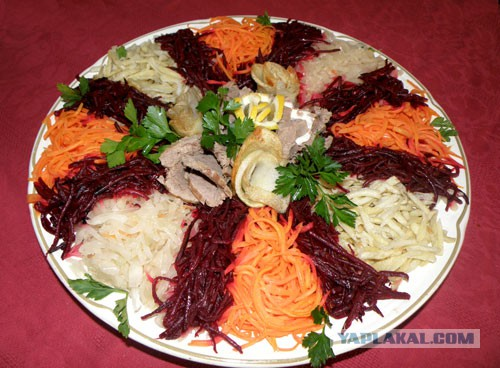 Салат чафан рецепт с фото пошагово с курицей