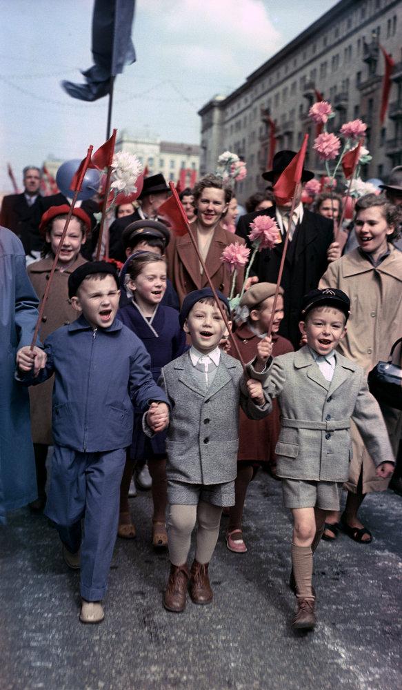 20 век в цвете. 1960 г. Наша страна 60 лет назад