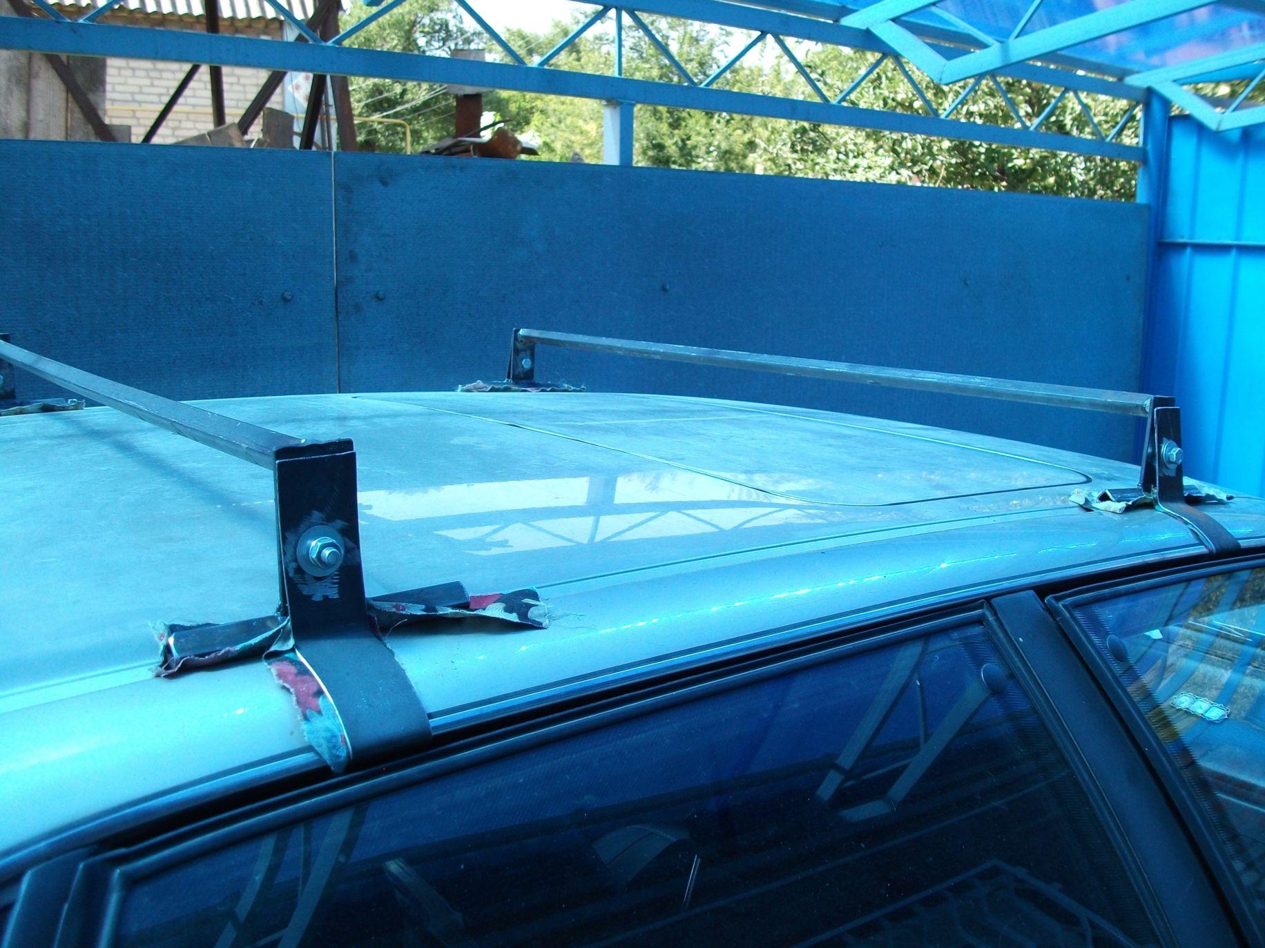 Багажник на крыше своими руками
