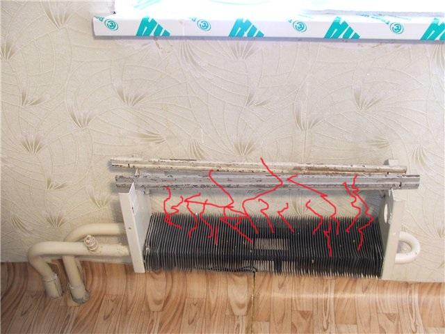 Старая батарея отопления что делать