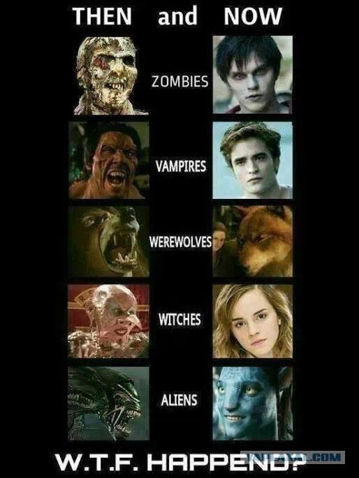фильмы про ведьм вампиров и оборотней