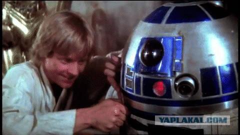 Тот момент, когда не можешь починить R2D2