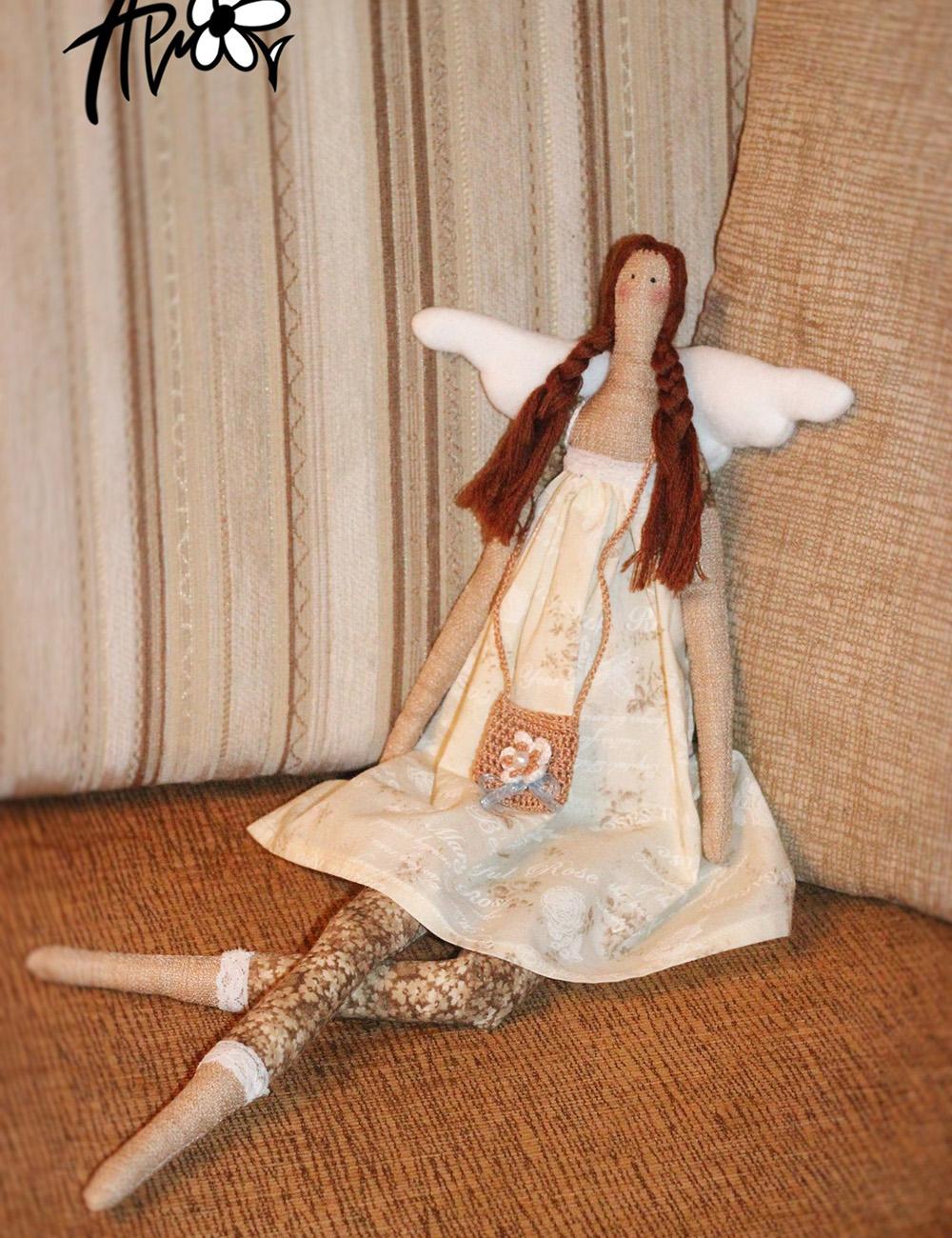 Необычные тряпичные куклы своими руками
