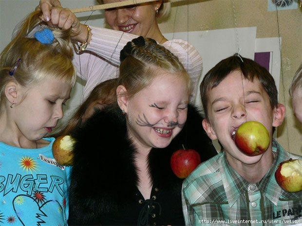 Игры для конкурсов с яблоками