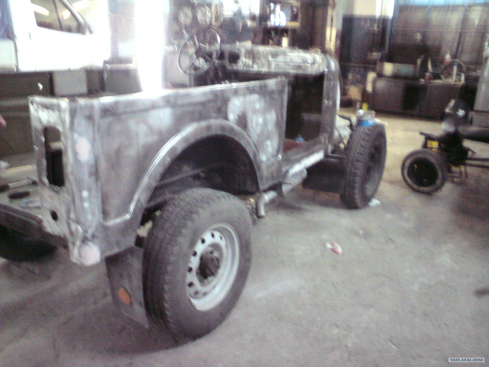 Фото ремонт кузова газ 69 своими руками