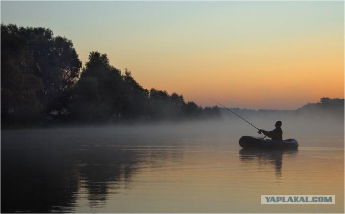 рыбалка в деревне черный поток