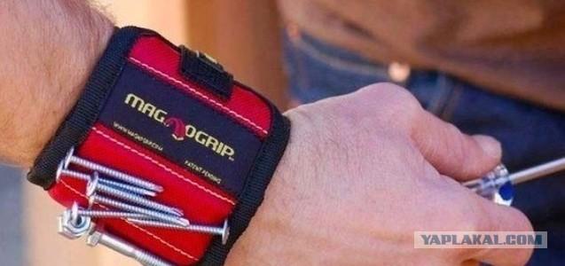 Магнит на руку для саморезов своими руками
