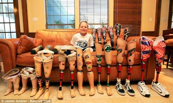 Мальчик мечтает о золоте на Паралимпийских играх