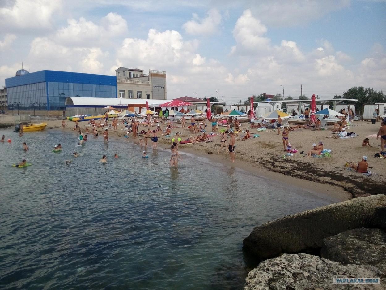 Фото пляжей в евпатории на симферопольской