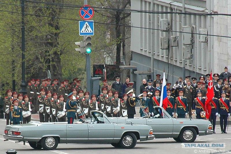 Хабаровск одним из первых городов России принял праздничный Парад в Хабаров