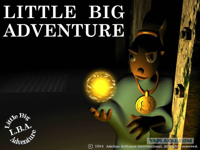 Приключения Твинсена / Little Big Adventure 1995, RUS+ENG/RUS+ENG, Repack.