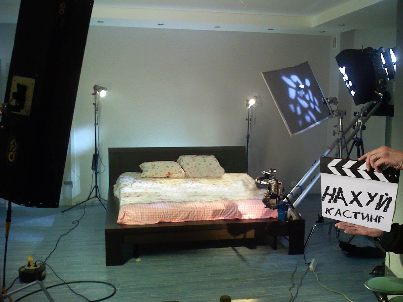 Фото на съемочной площадке порно