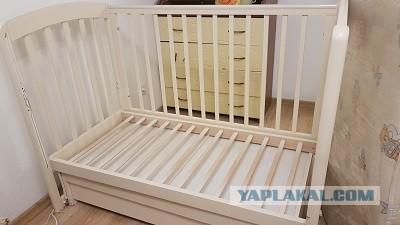 Отдам детскую кровать в Самаре.