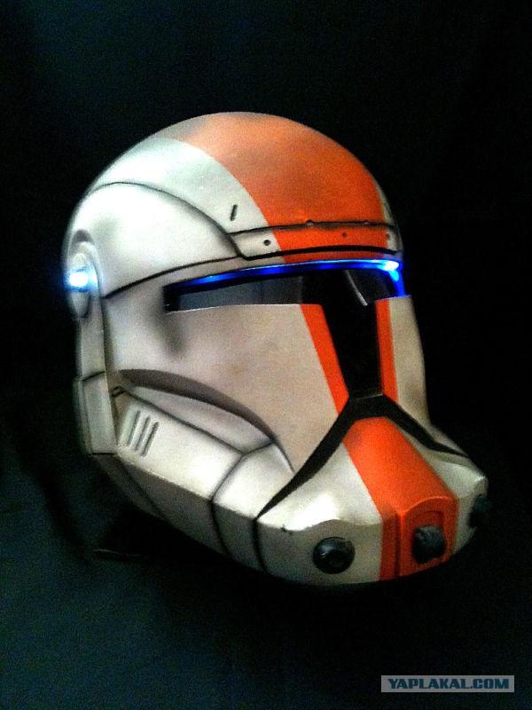 Как сделать шлем из stars wars