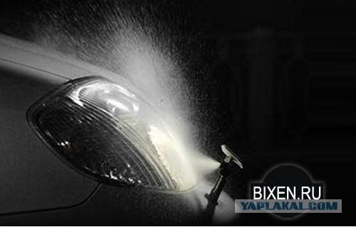 """Омыватель фар на """"Bentley Bentayga"""" 2017"""
