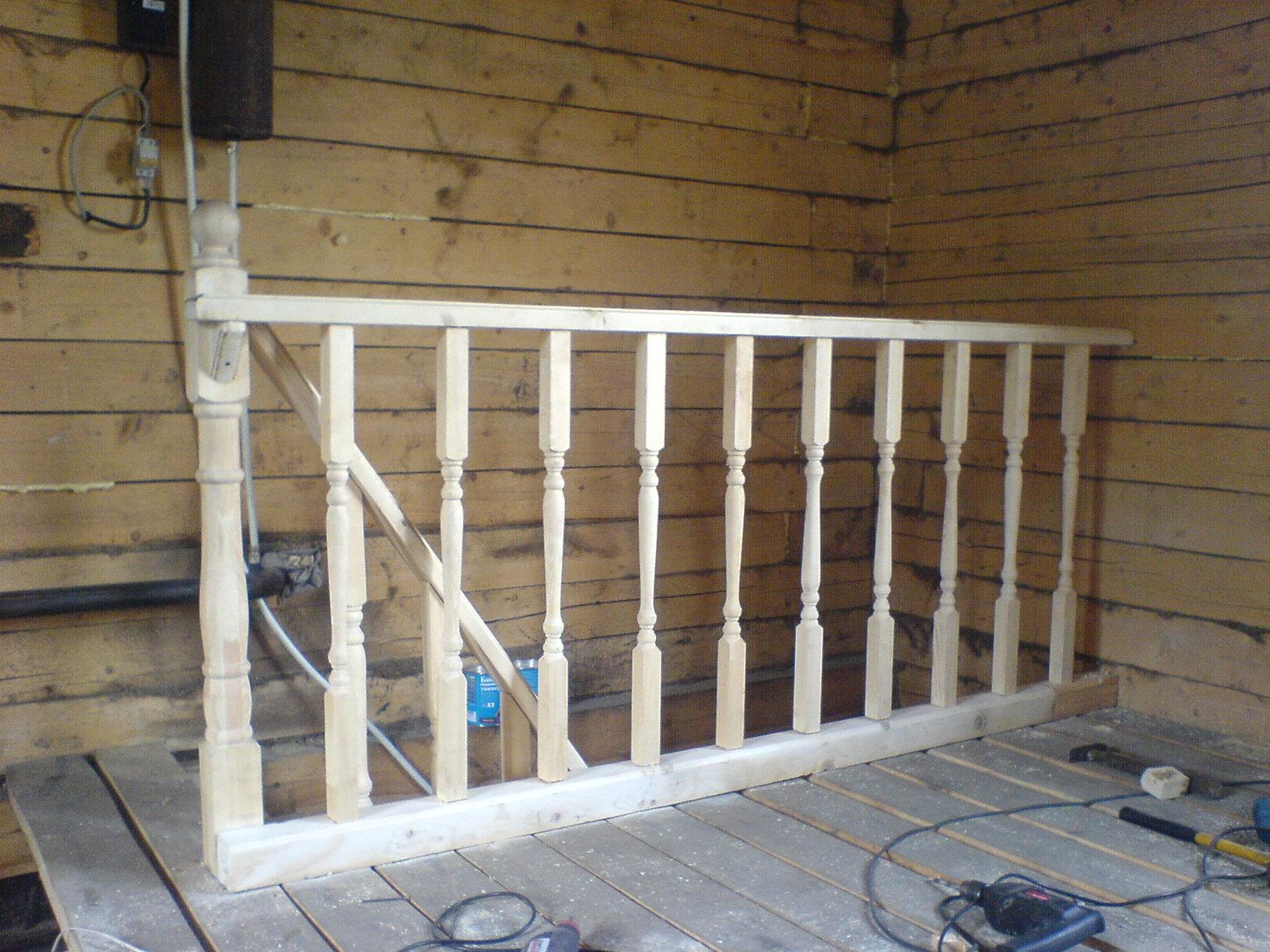 Как сделать своими руками лестницу на даче