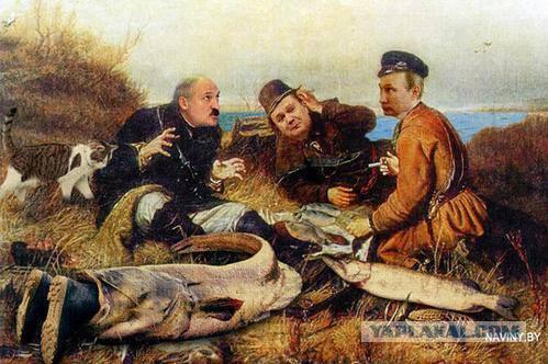 пародия грибы про рыбаков
