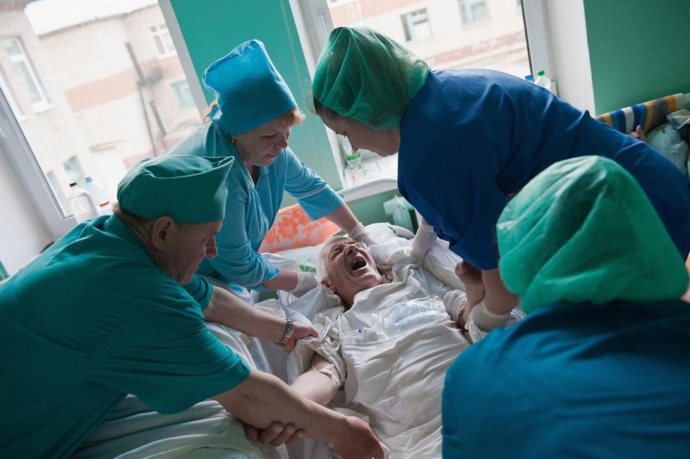 Лежачий больной с переломом шейки бедра в домашних условиях 589
