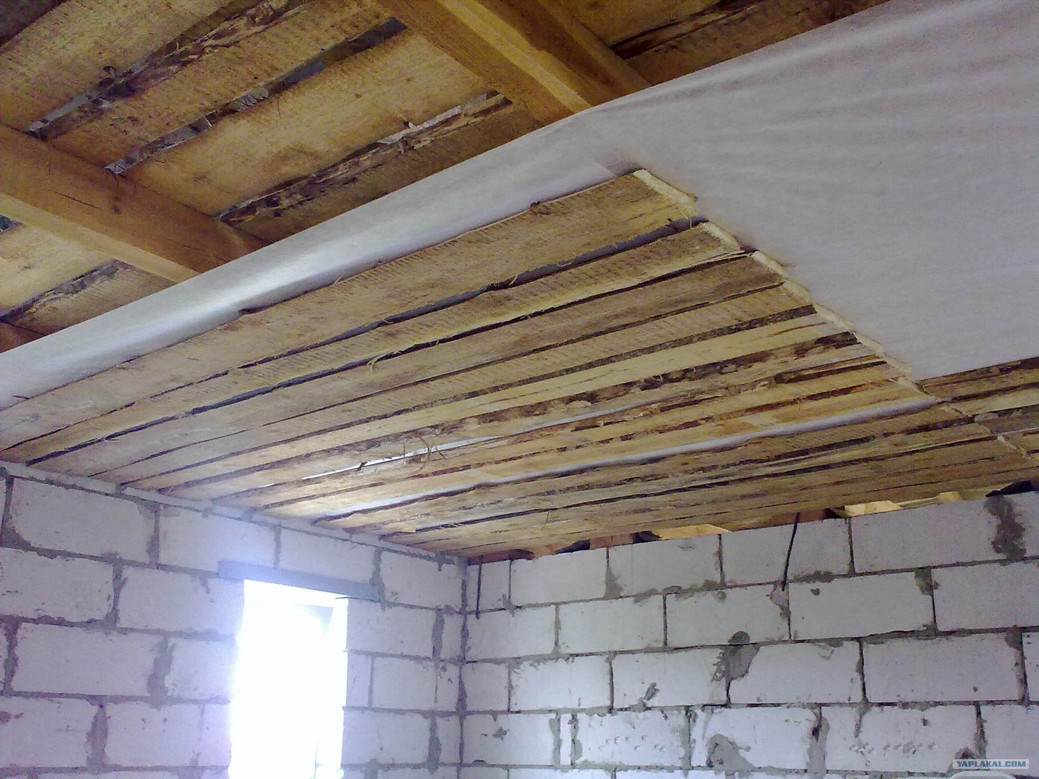 Черновой потолок своими руками пошаговая инструкция с фото 42