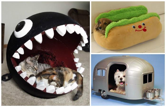 Домики для собак йорков