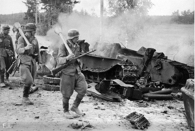 Мы до сих пор даже не знаем их имена. Бой 30 июня 1944 года.