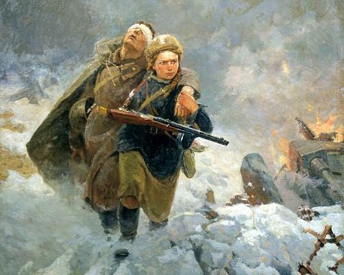 Эхо войны. Ушедшие в вечность. Медсестра и солдат