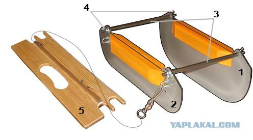 Видео как сделать кораблик для рыбалки своими руками чертежи