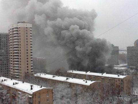 В ресторане на юго-западе столицы прогремел взрыв