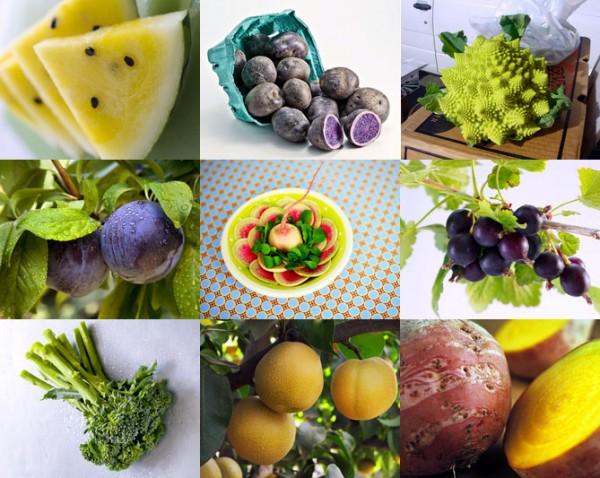 10 необычных гибридов и сортов овощей и фруктов.