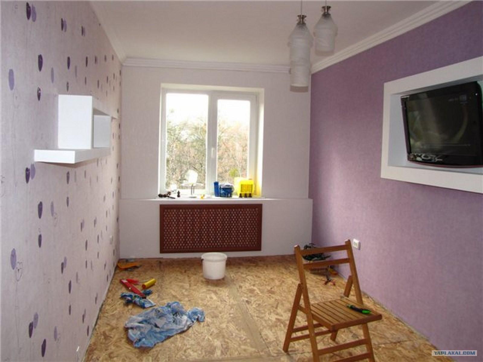 Как сделать ремонт в 2 комнатной квартире своими руками