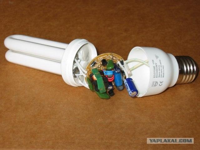 Люминесцентной лампы своими руками фото
