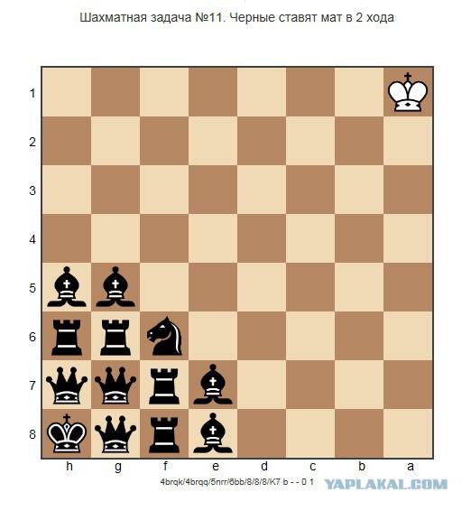 Шахматная задача