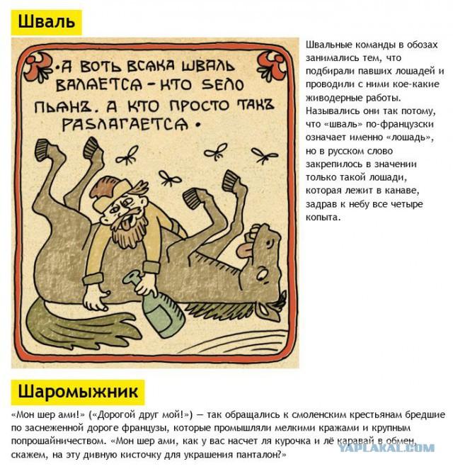 История некоторых ругательств из русского языка
