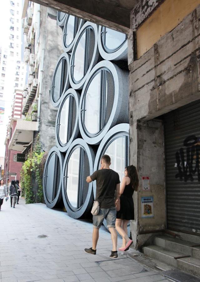 Эконом-жильё в бетонных трубах