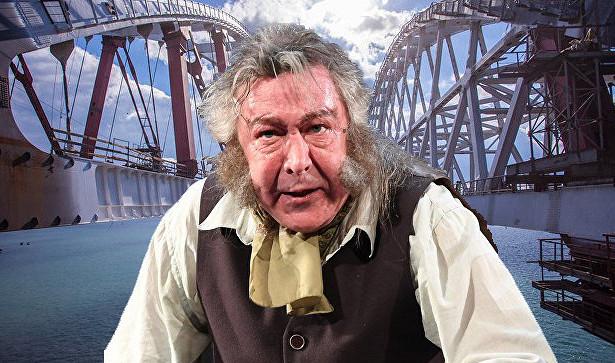 Ефремов предложил отдать Крымский мост Украине