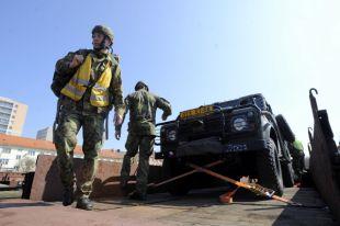 США начнут размещение тяжелого вооружения в Латвии